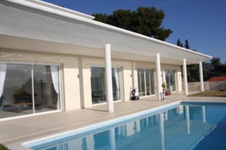Villa de luxe sécurisée  12 p- Piscine et vue mer - Nice