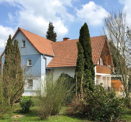 Ferienwohnung am Haselnussstrauch - Struppen - อพาร์ทเมนท์