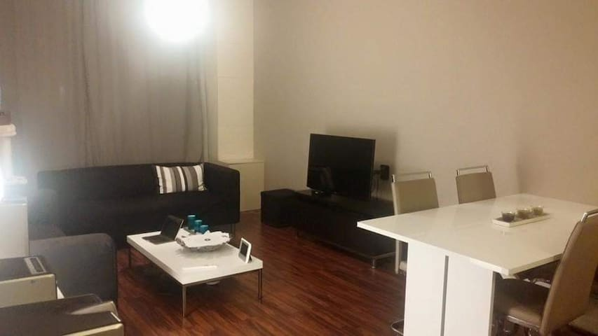 Appartment on ground floor near city center