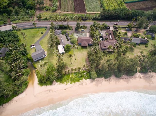 Kekela Beachfront Estate - Weddings allowed - Laie - House