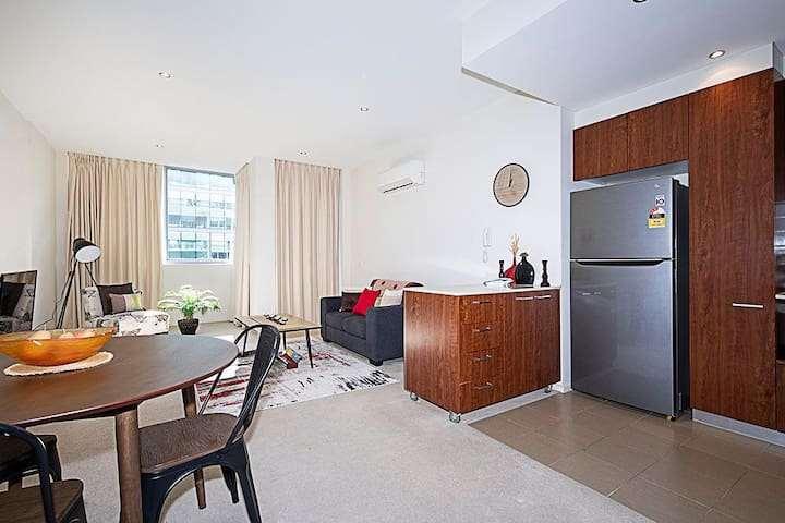 Stylish executive apartment  New Acton
