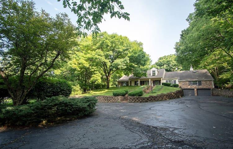 Cape Cod home on private 1.25 acres