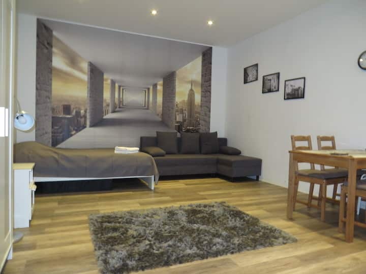 Apartment for 3-4 persons in the center of Poznań