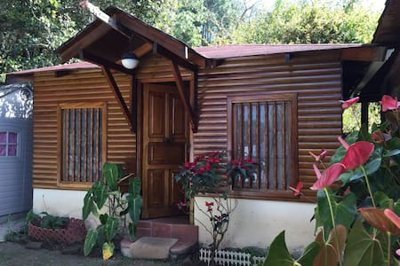 Outdoor cabin in garden - Santa Lucía