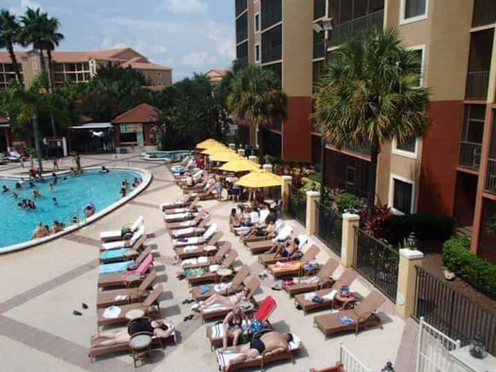 Tiempo compartido en Orlando todo lujo.