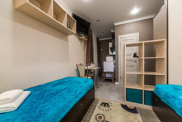Апартаменты на ул. Смоленская 13Б студия 1