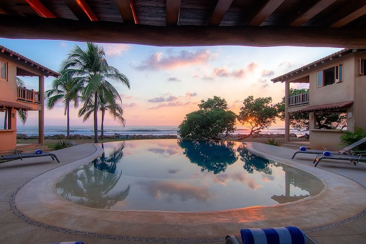 Beautiful New Beachfront Villa