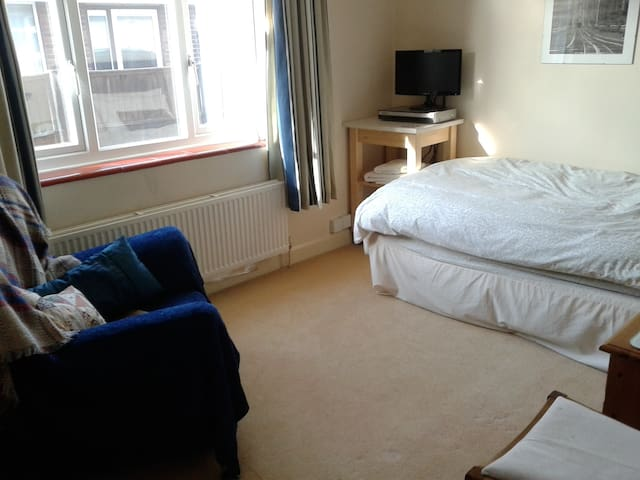 Spacious Single room London 40 mins - Shefford - House