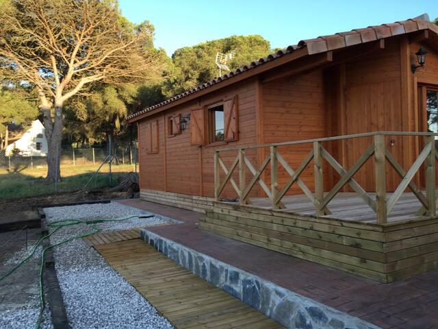 La casa de madera en caños de meca - Los Caños de Meca - Haus