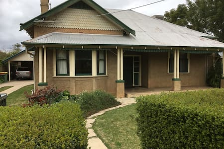 Heritage house in the heart of town - Echuca - Casa