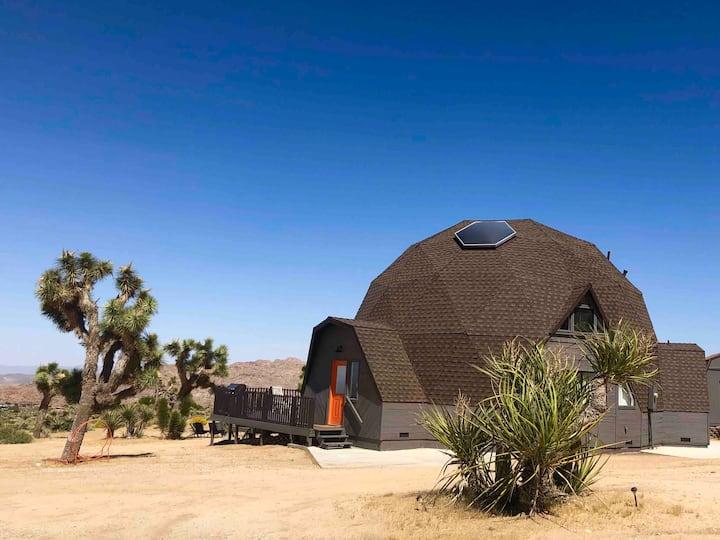 Joshua Tree Geodesic Dome House
