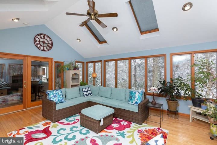 First floor sunroom