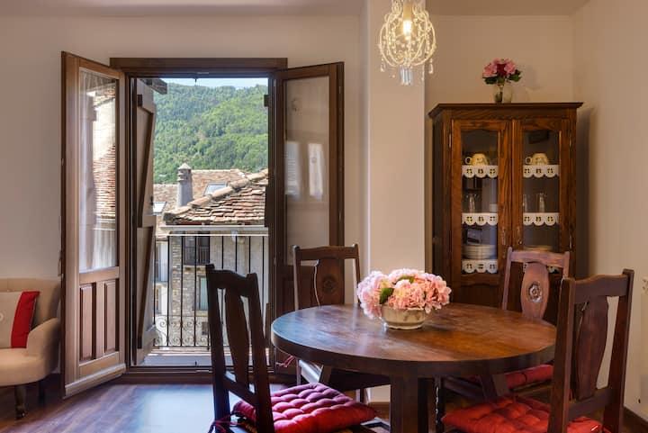 Precioso apartamento en Ansó, Pirineo Aragones