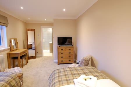 Stunning twin room with ensuite - Dunvegan