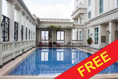 Cozy studio near center + Free ROOFTOP pool - Ho-Chi-Minh-Stadt