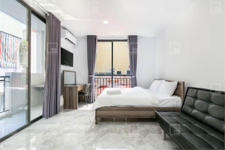 Budget-friendly room4-Thai Anh House-Central Park