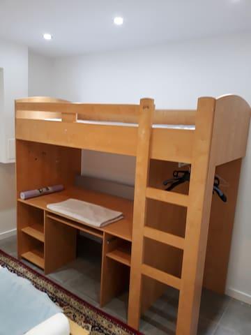 lit mezzanine pour enfant