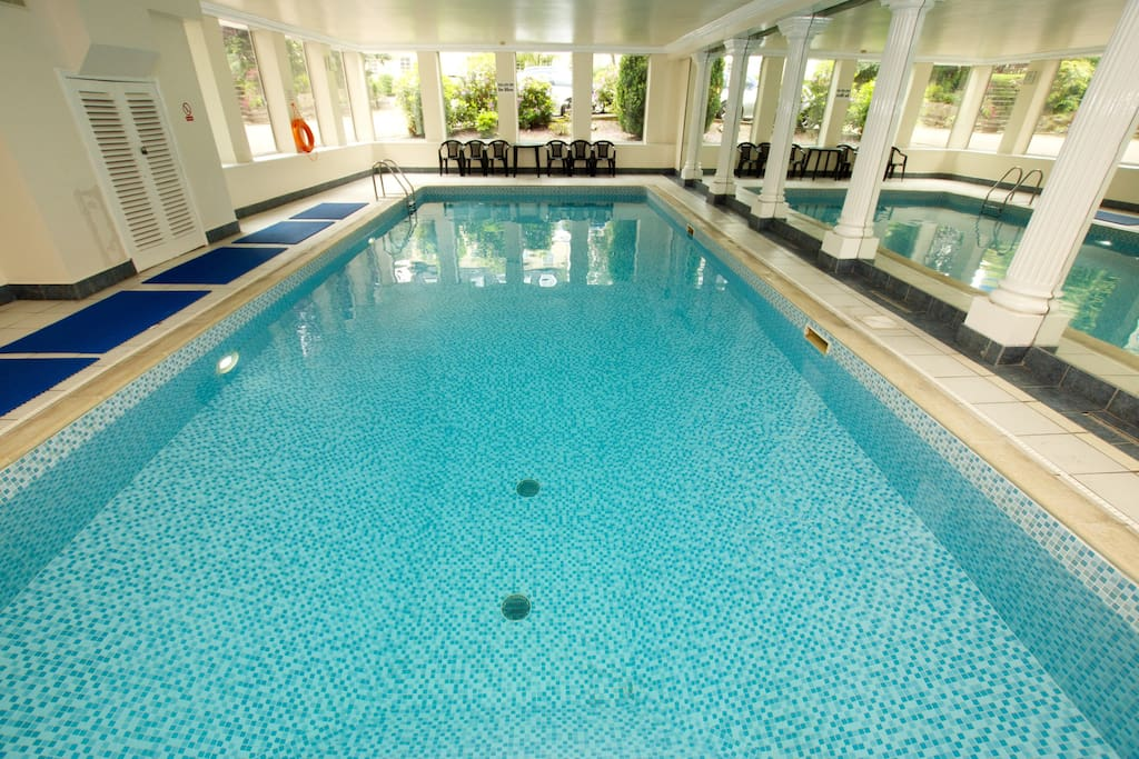 Private use of the pool and small gym area