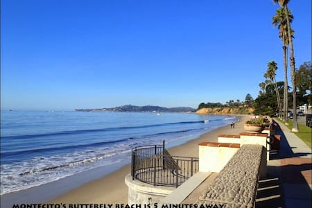 Montecito Walk to the Beach - Монтесито