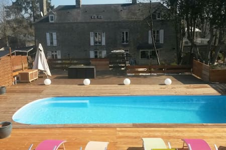 Studio avec accès piscine - Condé-sur-Noireau - Haus