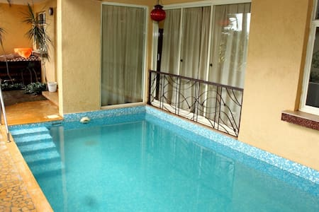 LUXURY 4 BHK (VILLA 2) WITH PRIVATE PLUNGE POOL - Guirim - Villa