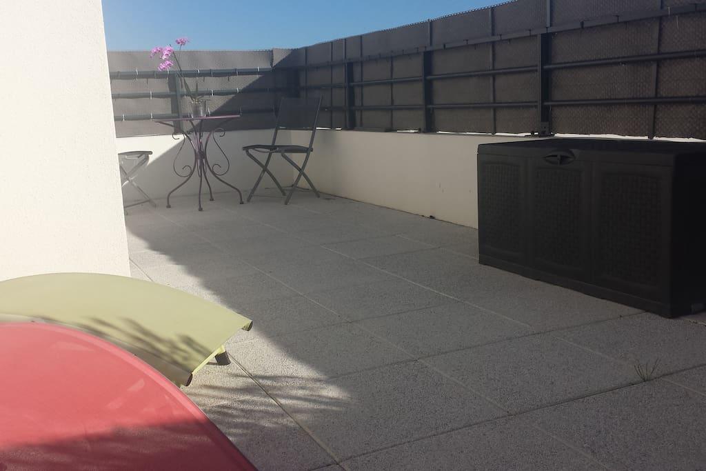 Terrasse 30m2