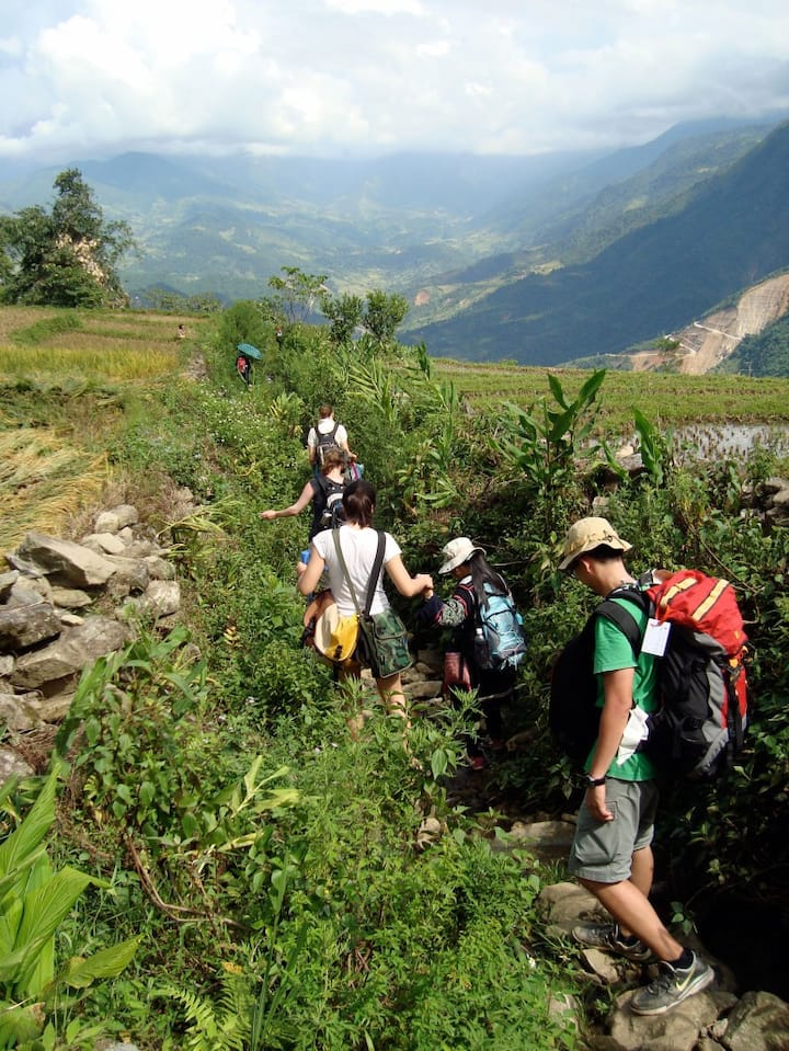 Trekking with Local Guide Sapa