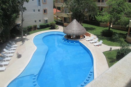 BIG 2BR with pool + 3mn to the beach - Playa del Carmen