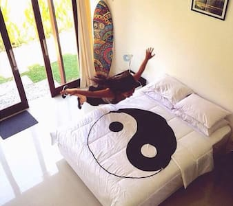 Canggu relax in loft room, Bali - Kuta Utara