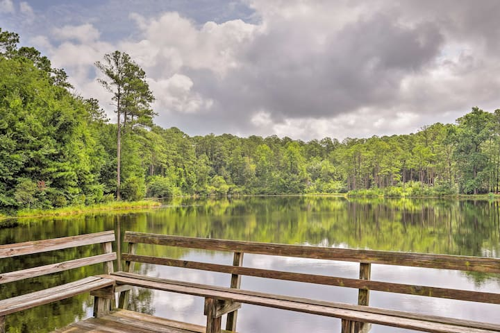 NEW Lakefront Columbia Home-Close to Main St & USC