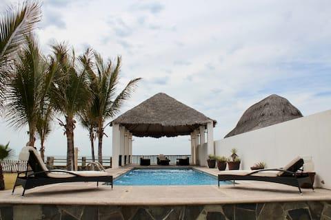 Lujosa casa de playa