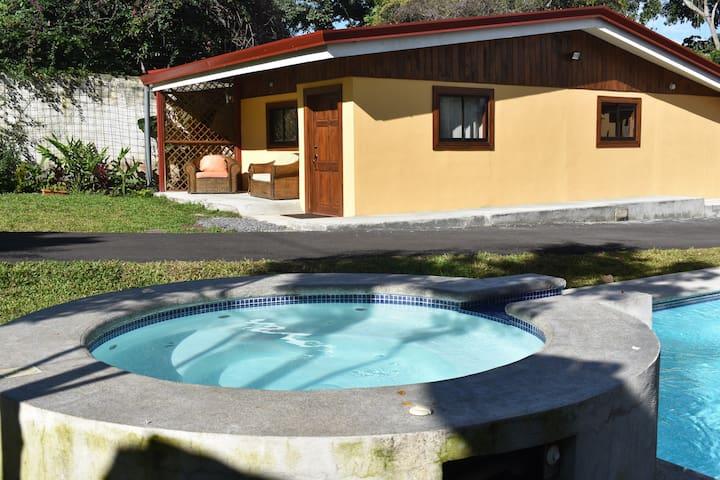 Poolside Cottage in Escazu