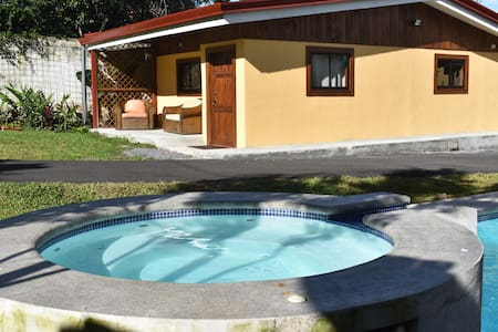 Poolside Cottage in Escazu