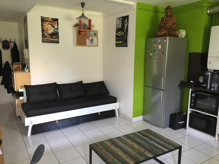 Appt. with garden Lyon 5e, 44sqm