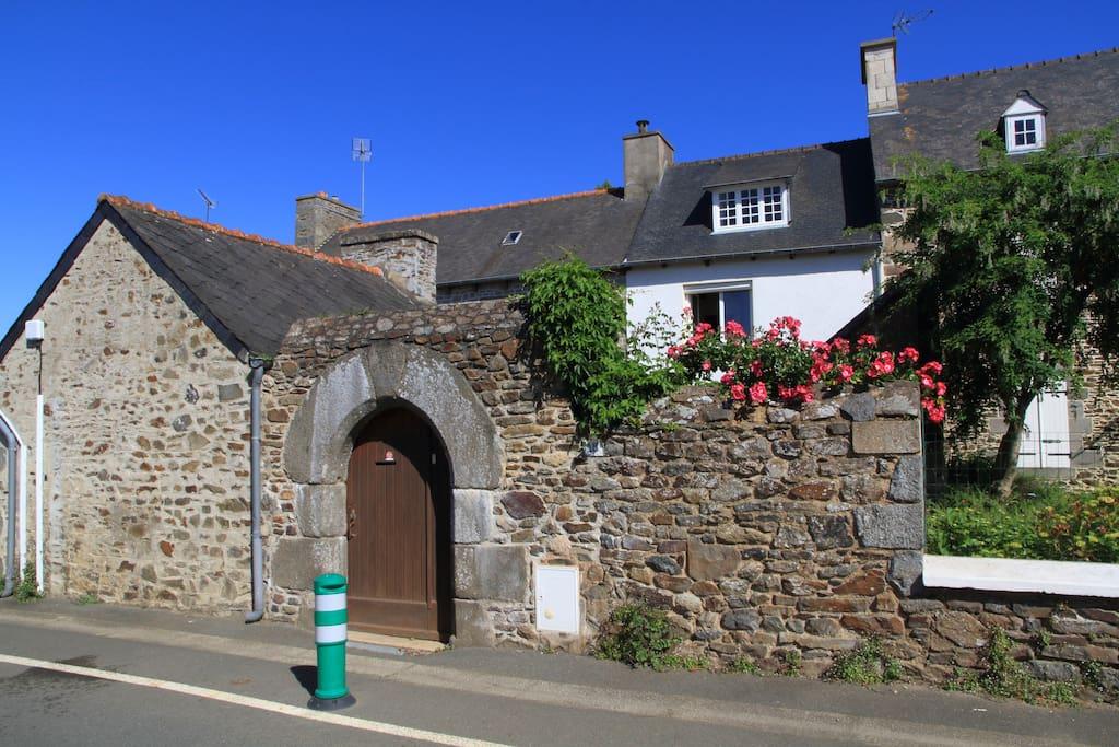 Maison de p cheur proche du bourg et des plages maisons - Maison de pecheur bretagne ...