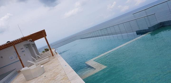 Stunning Ocean View - 2B - Beach House Cartagena