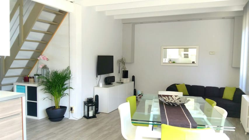Lovely house with garden in center of Bordeaux