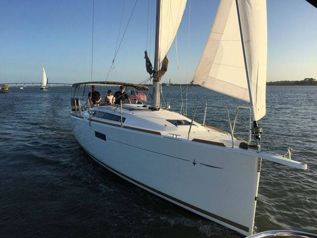St. Augustine Luxury Sailing Yacht!
