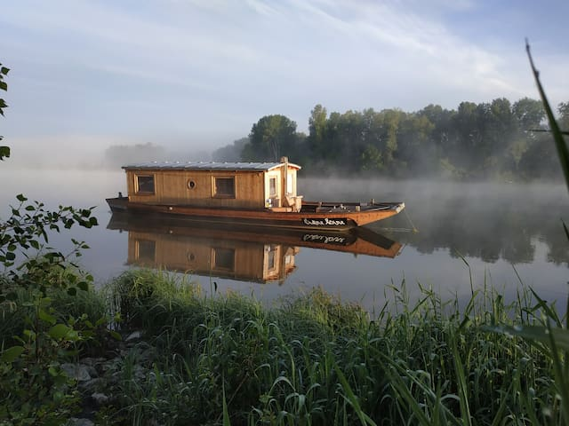 Outre-Loire: Sleep on the Loire 5 mn from Chambord