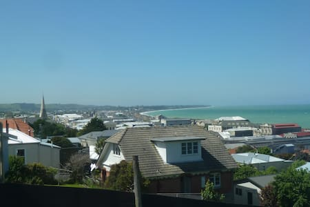 View Point Apartment. King & XL Single Beds 2 Bdrm - Oamaru - 獨棟