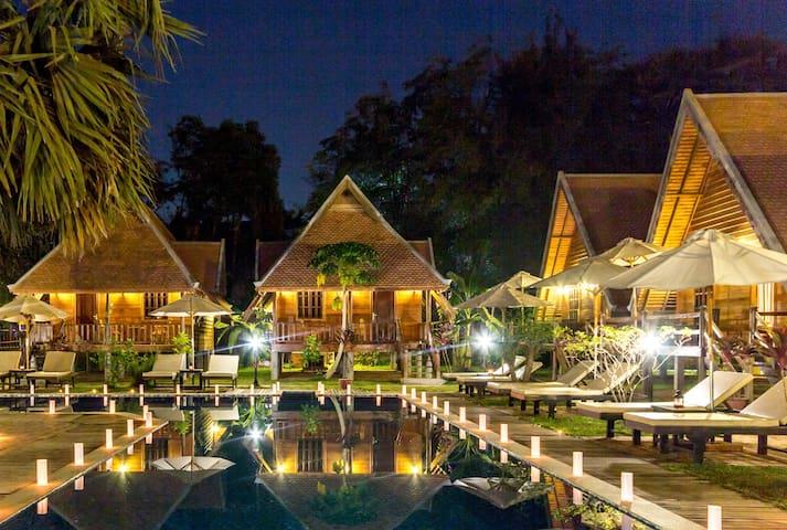 Angkor Heart Bungalow -Deluxe Double Room