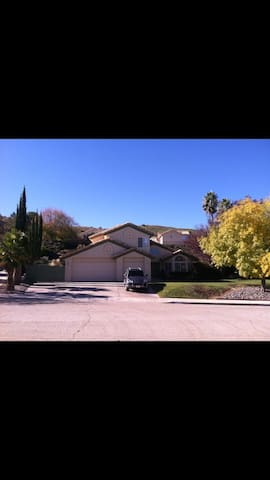 Large, comfy desert home on a hill - Palmdale - Rumah