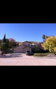 Large, comfy desert home on a hill - Palmdale - Casa