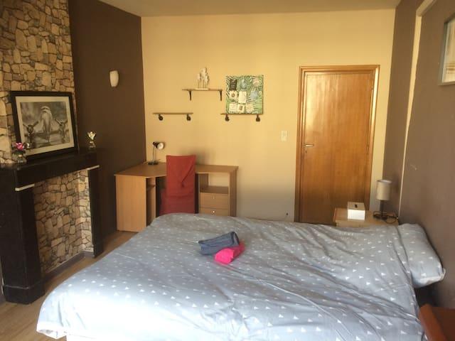 Chambre meublé dans appartement dans centre