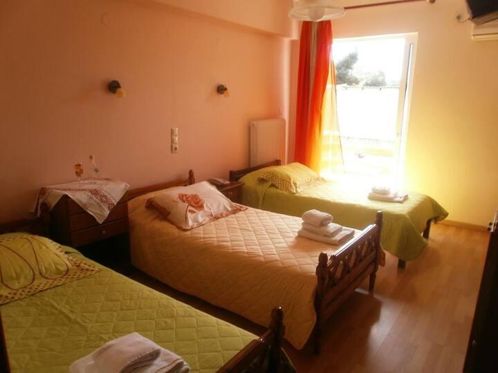 Nice and comfortable triple room
