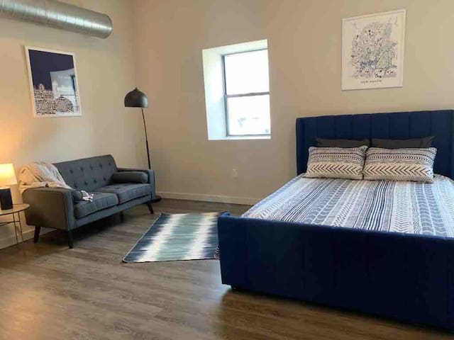 Brand New 1BR Studio-Gym, Parking-New Haven/Hamden
