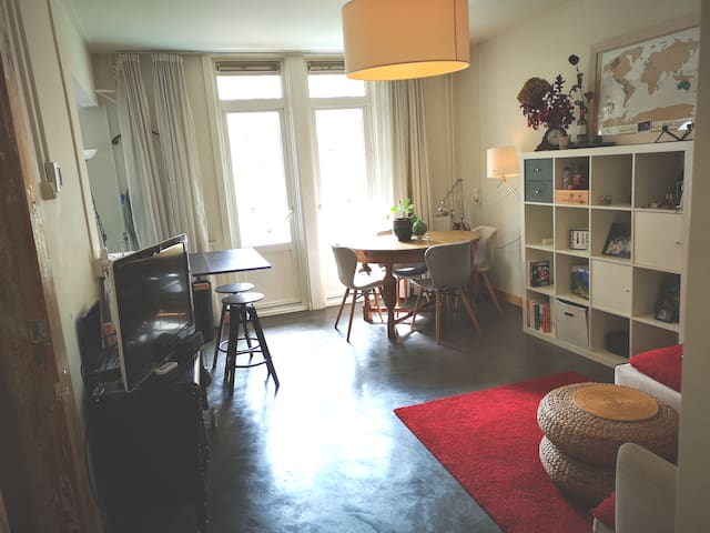 Apartment with sunny balcony in Amsterdam :)
