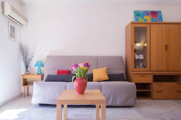 SUPERBE STUDIO CLIM CROS DE CAGNES - Cagnes-sur-Mer - Apartment
