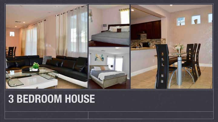 3 bedroom house, 15 minutes away from strip