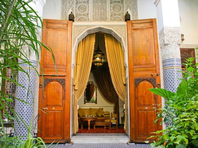 Lovely Cheap Double Room - B&B WIFI Riad Louna - Fès